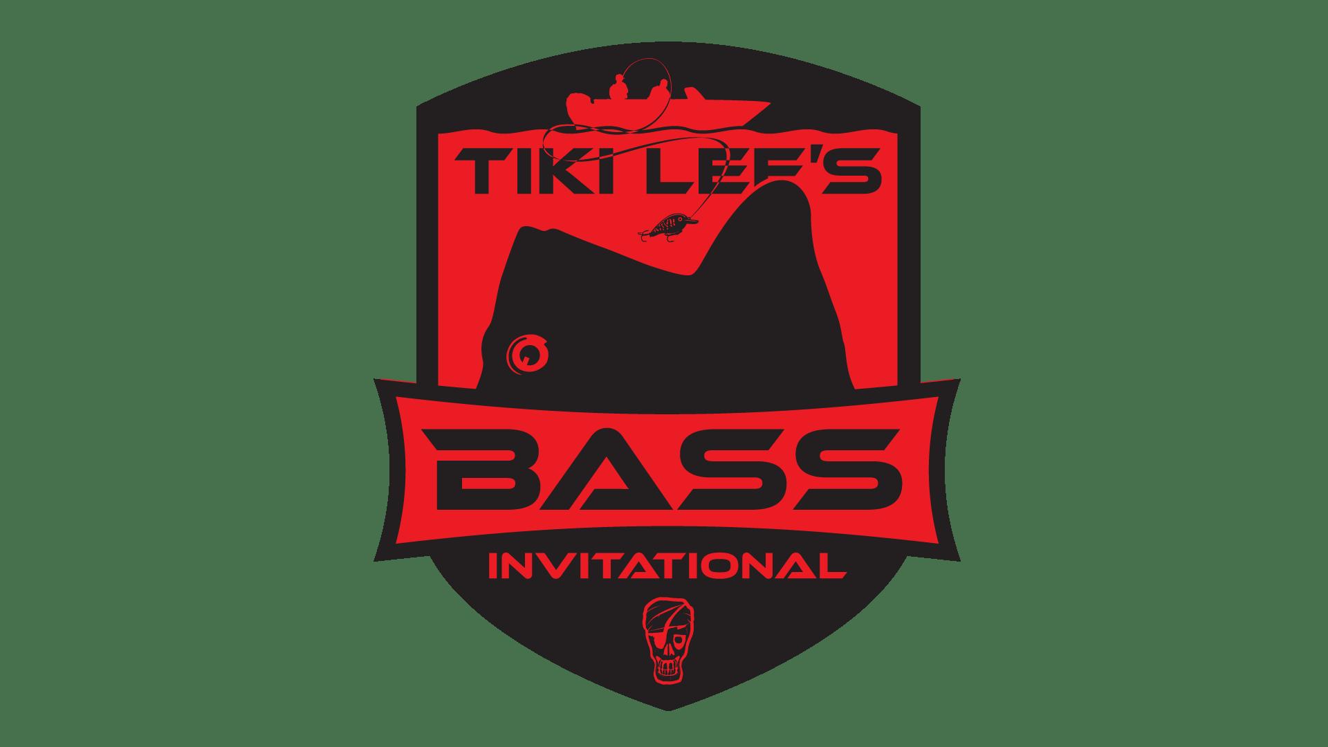 Tiki Lee's Bass Tournament Logo