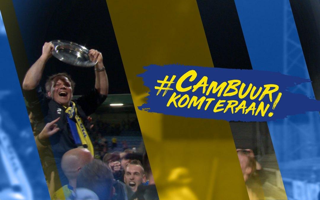 Support Cambuur met een felicitatie!