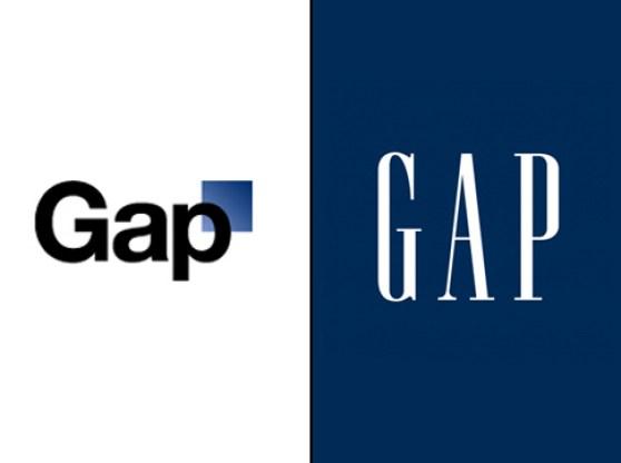Gap Logos (New and Old)