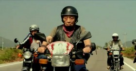 "Taiwan's TC Bank television commercial ""Dream Rangers"": An old man brings along a photograph of his deceased wife on his motorcycle road trip."