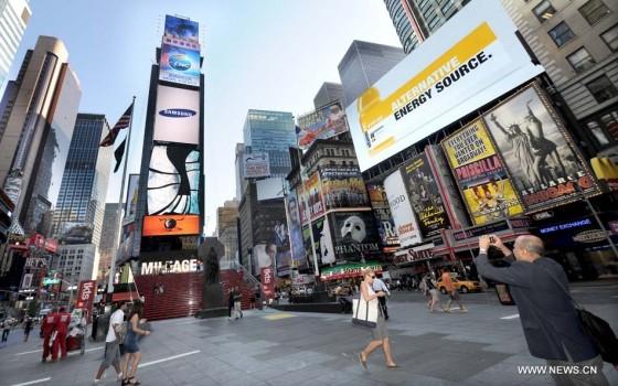 Xinhua News Agency - Times Square Billboard