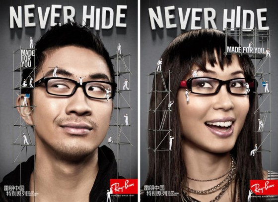 Ray Ban China - Never Hide Posters