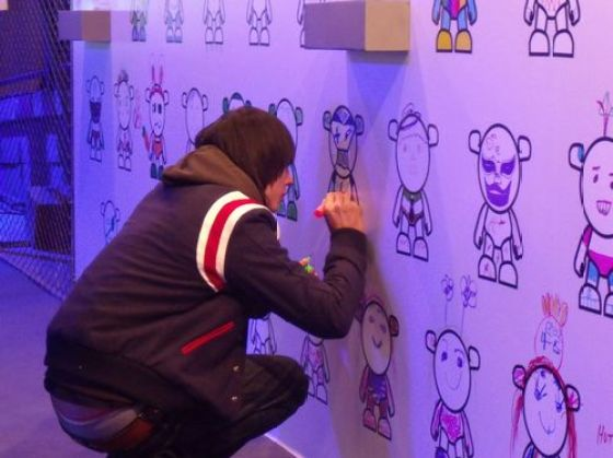 Chevrolet China - SPARK MYSELF Launch Party (Grafitti Wall) 8