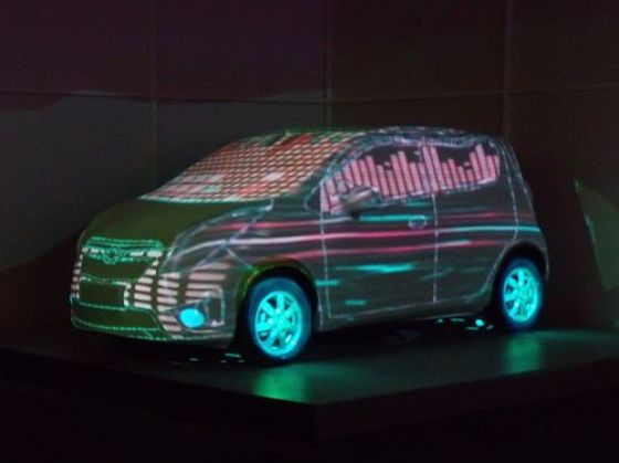 Chevrolet China - SPARK MYSELF Launch Party (Light Show) 5