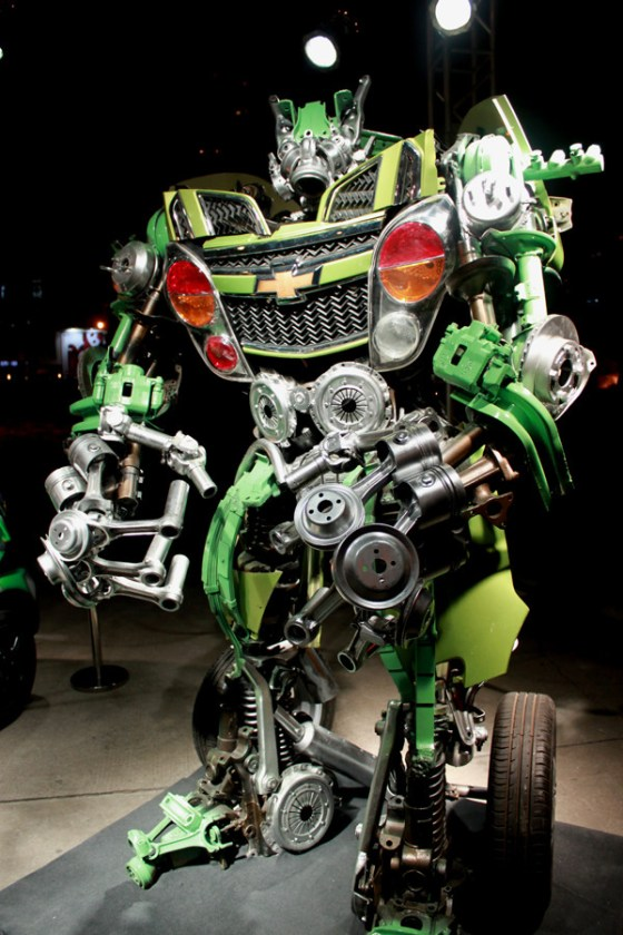 Chevrolet China - SPARK MYSELF & Transformers 2