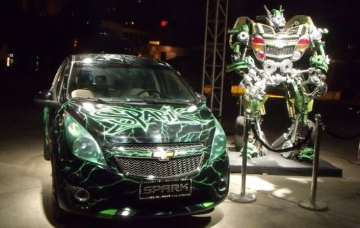 "Chevrolet ""Spark"" China With Transformers 3 Tie-Up"