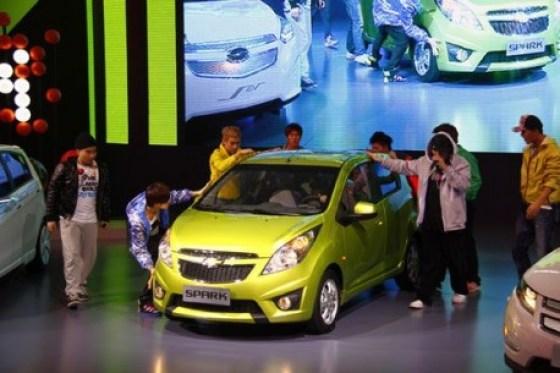Chevrolet SPARK - Guangzhou Auto Show Launch 2010