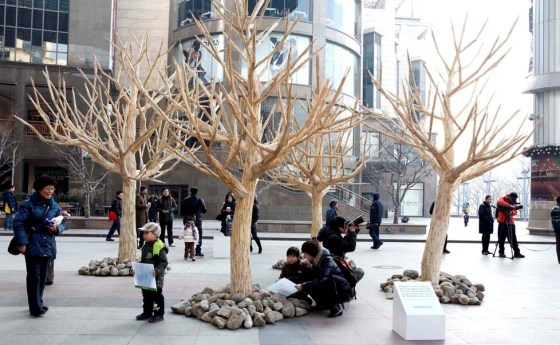 Greenpeace China - Chopstick Forest 12