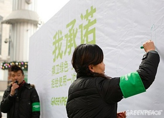 Greenpeace China - Chopstick Forest 2