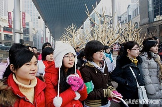 Greenpeace China - Chopstick Forest 3