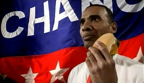 Barack Obama - KFC Hong Kong