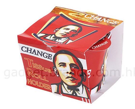 Obama KFC Bucket - Toilet Dispenser 2