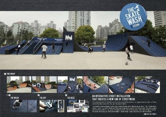 Metersbonwe - Skate Wash Denim