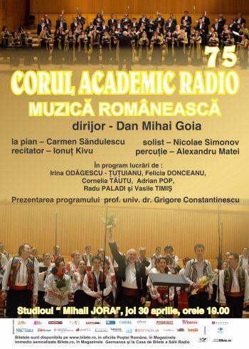 Corul Academic Radio – 75 de ani