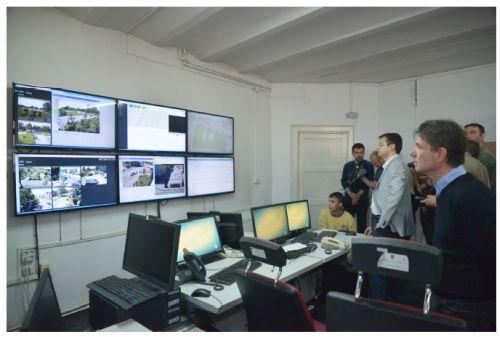 A început instalarea sistemului de siguranţă în municipiul Braşov