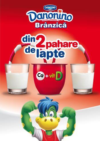 Danonino lansează o nouă campanie prin care susţine autonomia copiilor