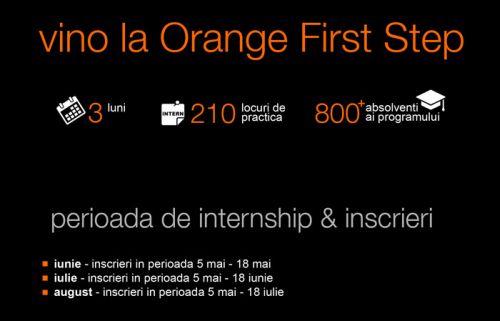 Orange First Step 2015