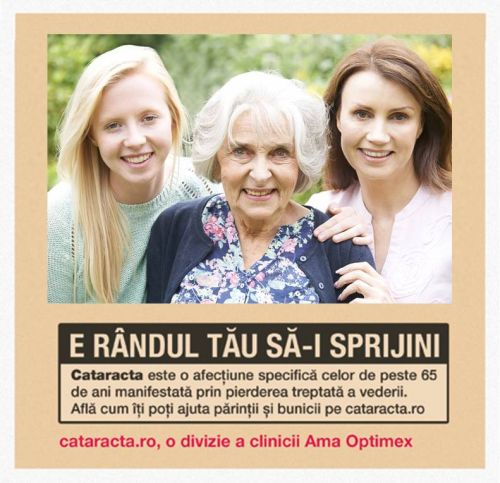 Procentajul pacienților români operați de cataractă este aproape jumătate față de media țărilor UE*