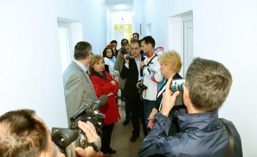 Vizită împreună cu jurnaliştii la proiectele finanţate prin Regio din Călăraşi