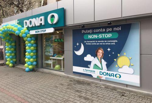 farmacii DONA deschise non-stop de sărbătorile de Paști