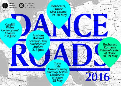 Centrul Național al Dansului găzduiește ediția din 2016 a festivalului Dance Roads