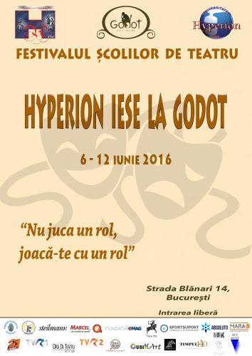 Festivalul Scolilor de Teatru Hyperion iese la Godot