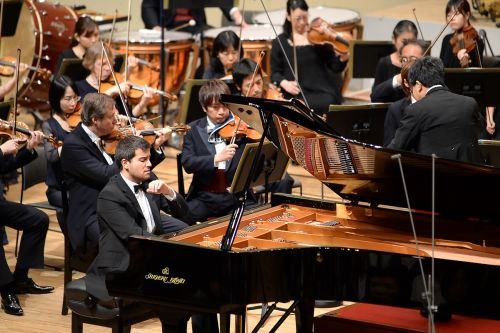 Pianistul Florian Mitrea