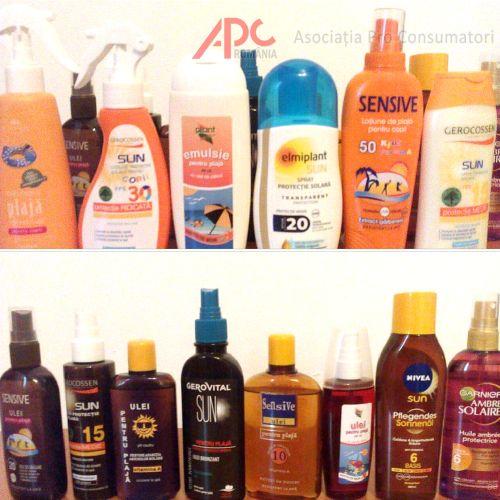 Studiu APC privind calitatea cremelor și uleiurilor pentru plajă