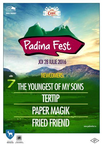 NEWCOMERS Padina Fest 2016