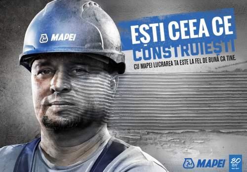 """""""Ești ceea ce construiești"""" Mapei România"""