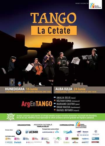 Tango la cetate la Hunedoara şi Alba Iulia
