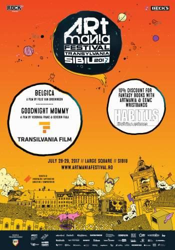 Transilvania Film vine la ARTmania cu filme premiate internațional! Iar Librăria Habitus le asortează cu cărți bune!