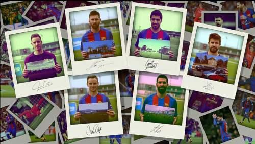 Jucătorii Barça rememorează locurile unde au jucat prima dată fotbal în copilărie