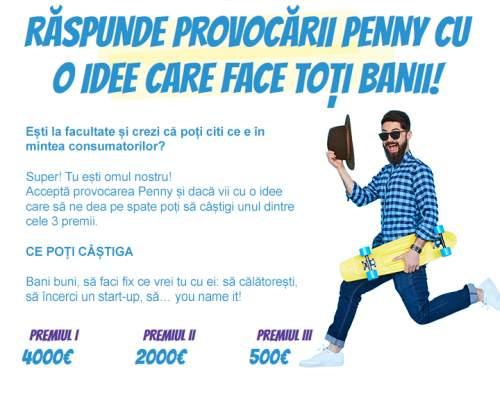 """Penny Maket provoacă studenții la creativitate în concursul """"Idee de România"""""""