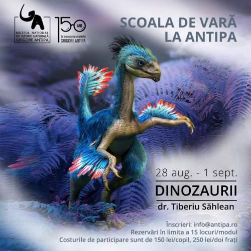 """""""Reptile sau păsări? O călătorie în timp pentru a cunoaște cele mai mari animale care au trăit vreodată, dinozaurii"""""""