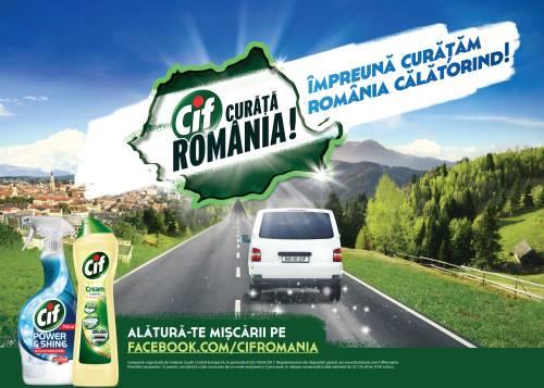 CIF si MullenLowe prezinta jurnalul de bord al programului Impreuna Curatam Romania Calatorind!