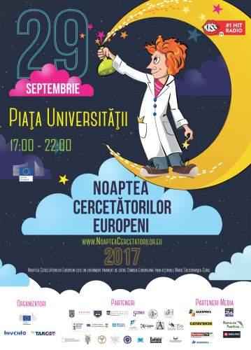Noaptea Cercetătorilor Europeni 2017