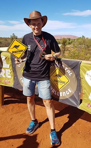 Andrei Gligor iese al doilea la THE TRACK, un ultra de 522k în deșertul australian