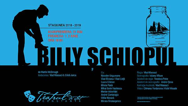 BILLY ȘCHIOPUL, o comedie neagră despre dragoste și cruzime