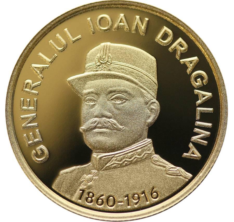 BNR: Emisiune numismatică cu tema 160 de ani de la nașterea generalului Ioan Dragalina