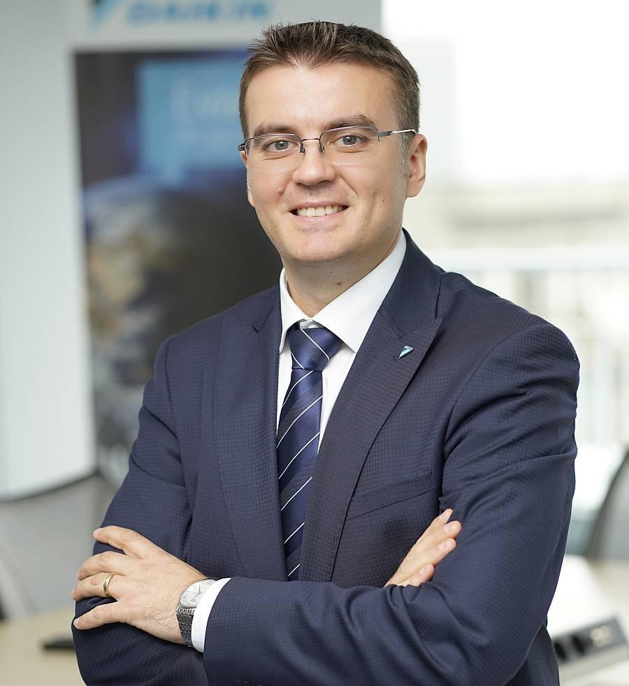 Daniel Vasile, Managing Director Daikin Romania