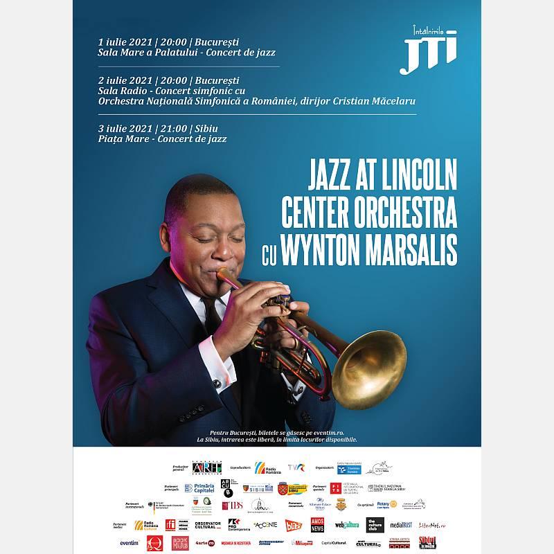 Pentru prima dată în România, 1-3 iulie, Wynton Marsalis și Jazz at Lincoln Center Orchestra