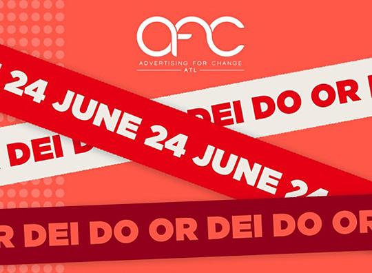Do or DEI: An AFC Live! Industry Roast. Thursday, June 24, 2021. 3 p.m. EDT