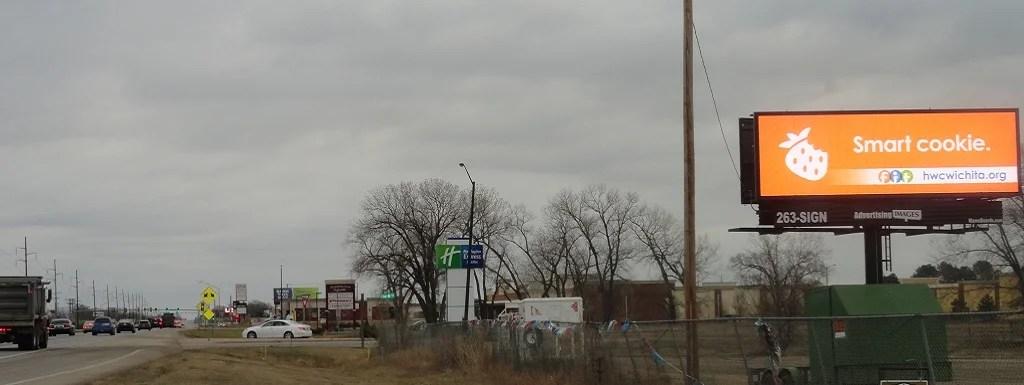 Kellogg & Andover Rd Billboard
