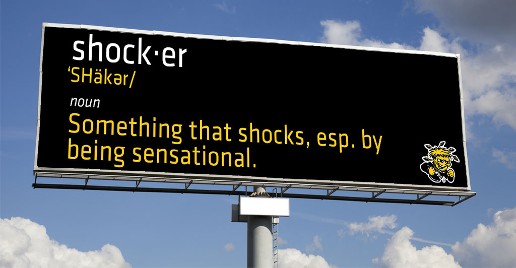 WSU Shocker Digital Billboard Marketing in Wichita, Kansas