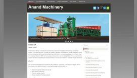 anand machinery