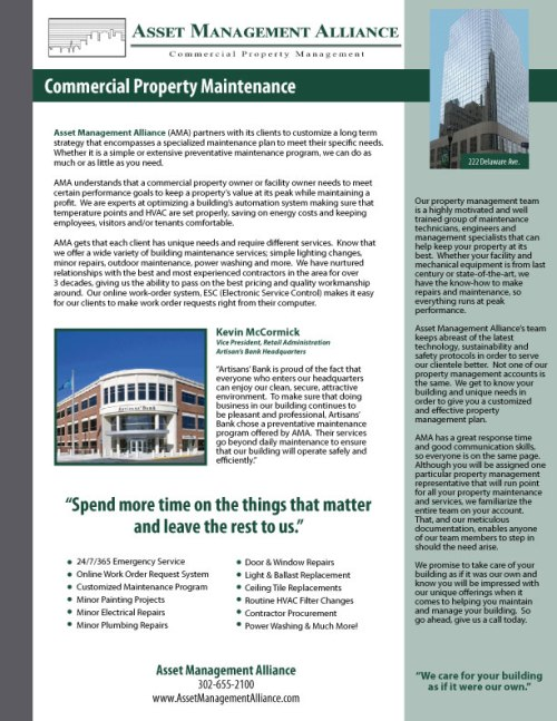 AMA-Commercial-Property-Maintenance-One-Sheeter