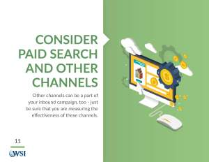 Consider Paid Search and Other Channels