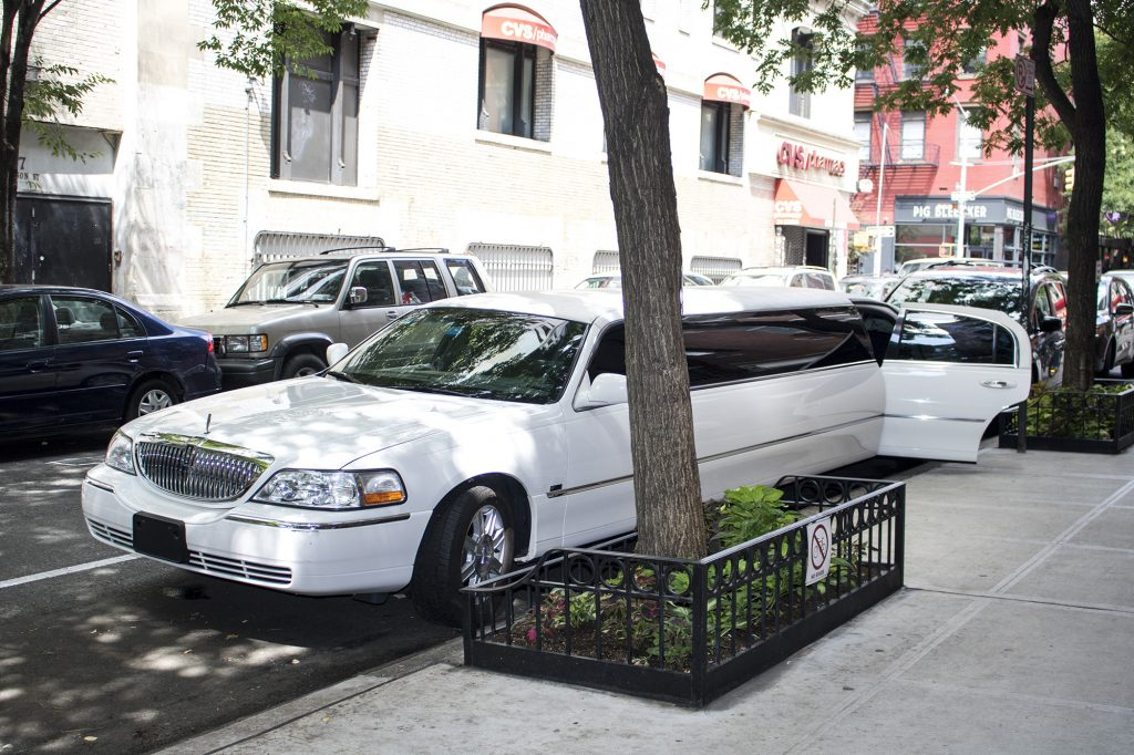 Limousine ride to NYC