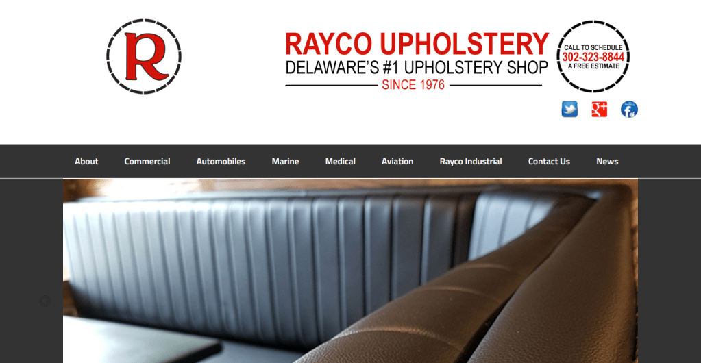 Rayco Upholstery Website